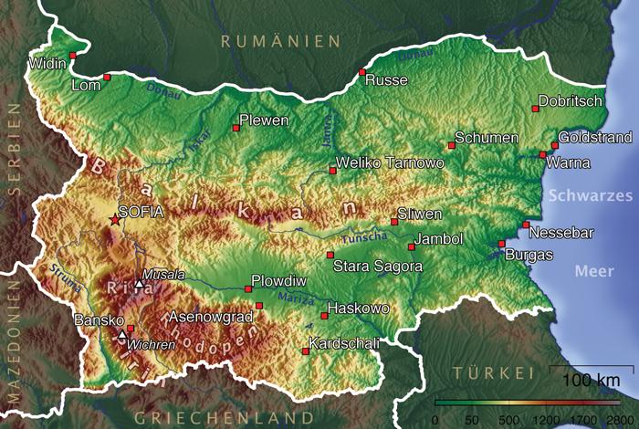 topographie_bulgarien