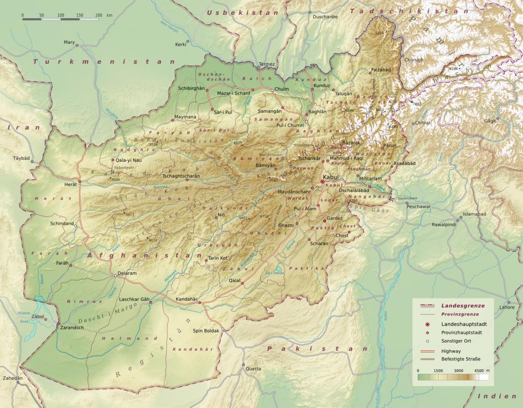 topographische--afghanistan