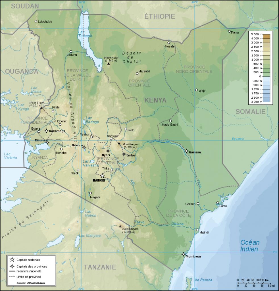topographische--kenya
