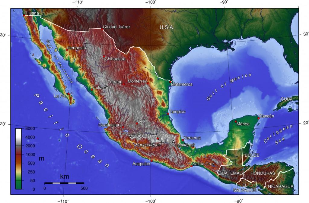 topographische--mexiko