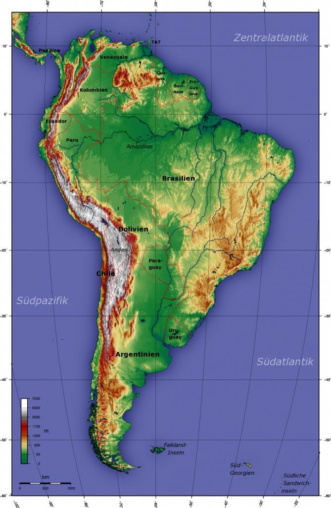 topographische--suedamerika