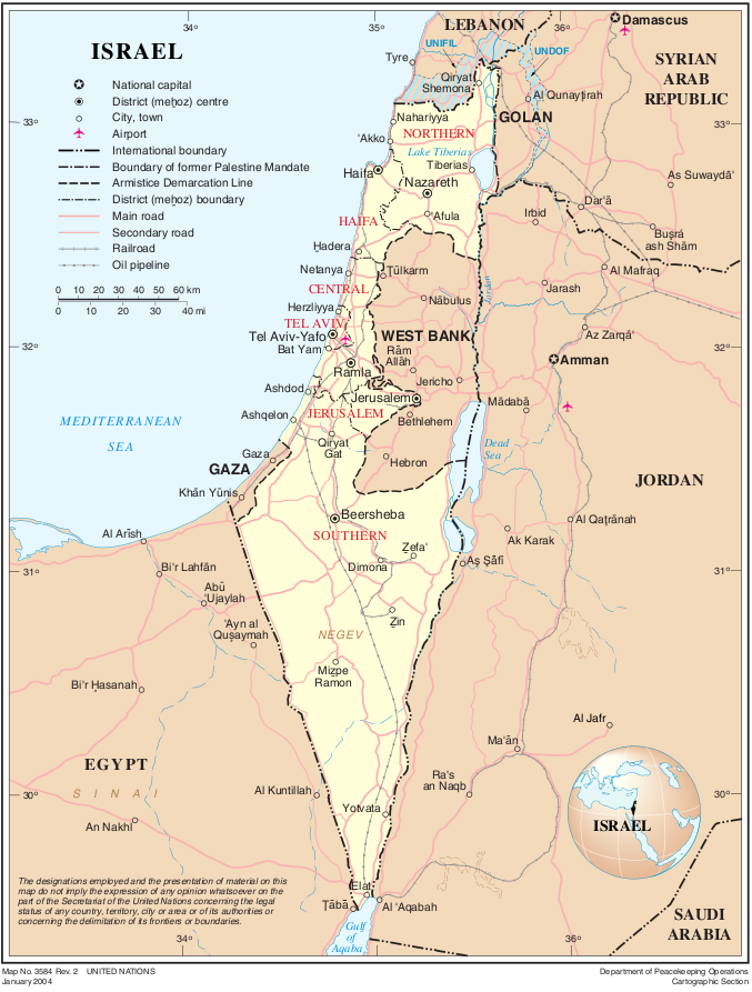 uebersichts-israel