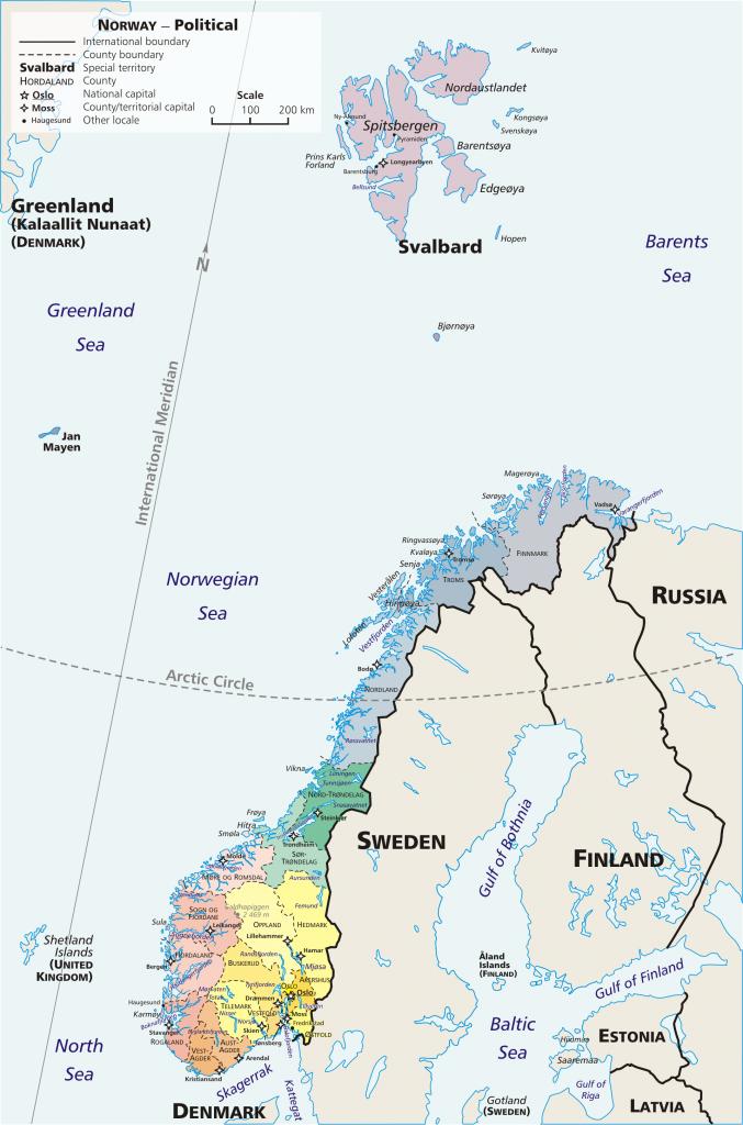 verwaltungsbezirke_Norwegen