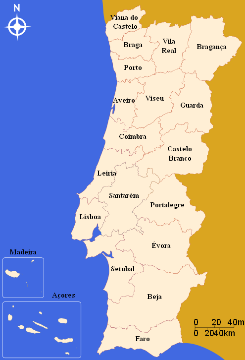 verwaltungsbezirke_portugal
